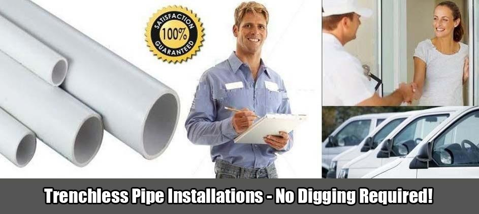 Levine & Sons Plumbing, Inc. Trenchless Pipe Installation